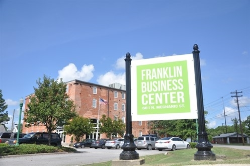 Franklin Business Center Sign