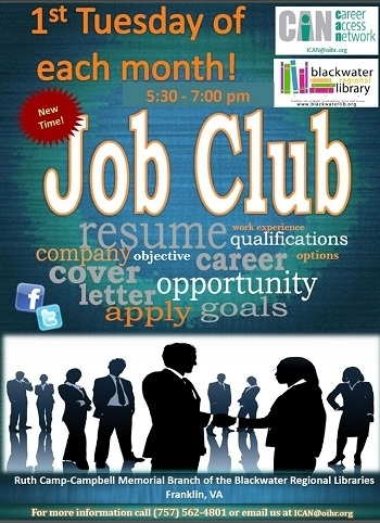 Job Club One On One Support For Becoming Employed